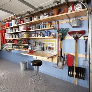 Garagem organizada